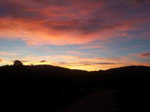 Die letzten Sonnenaufgaenge hier genießen...
