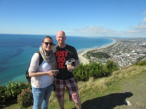 Nicole and me | Mt. Maunganui