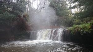 Hot stream waterfall, oh lala